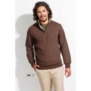 Sol's Scott sweater met 1/4 rits