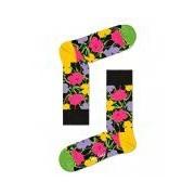 Happy Socks-Sokken-Andy Warhol Flower Socks-Zwart
