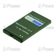 2-Power Mobiltelefon Batteri Nokia 3.7v 1100mAh (BL-5J)