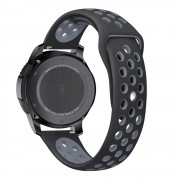 Curea silicon Tech-Protect Softband Samsung Gear S3 Black/Grey
