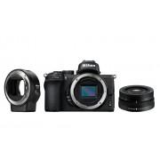 Nikon Фотокамера Z 50 + объектив 16-50/3.5-6.3 VR + FTZ адаптер