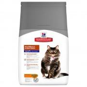 Hill's Mature Adult 7+ Hairball Control con pollo para gatos - 1,5 kg