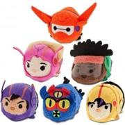 Disney - Big Hero 6 ''Tsum Tsum'' Mini Plush Collection - Set of 6 Action Team Figures