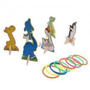 Alcoa Prime Hoop Ring Toss Quoits Kids Children Outdoor Fun Play Set Summer Family Games