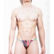 Mategear Jung Eun Y Back Extremely Sexy Mini G String Underwear Orange Print 750402