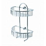 Kolpa san EL 5707 Szappantartó zuhanykabinokhoz, kétkosaras