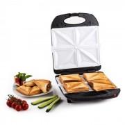 TRINITY 3IN1 тостер за сандвичи XXL 1300W черен