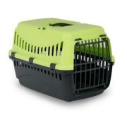 Cusca transport animale , Gipsy L , Plasitic 58X38X38 Better Green Usa Metal Pet Star