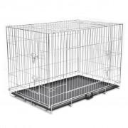 Sonata Сгъваема метална кучешка клетка, размер XXL