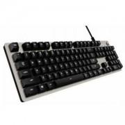Геймърска механична клавиатура Logitech, G413 Silver, Romer-G суичове, LOGITECH-KEY-G413-US-S
