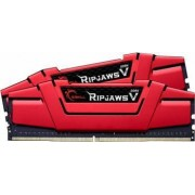 Kit Memorie G.Skill RipjawsV Red 16GB 2x8GB DDR4 3200MHz CL14 Dual Channel