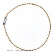 collana nomination collezione sphere colore bronzo