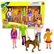 Character Year 2010 Warner Bros Scooby Doo Cartoon Series 5 Pack Fully Articulated And Poseable Action Figure Set Mystery Solving Crew With Fred, Scooby Doo, Shaggy, Daphne And Velma