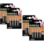 Duracell AA 1300mAh Rechargeable - Pack de 16 (BUN0061A)