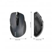 TeckNet BM307 Bluetooth Mouse - ергономична безжична мишка с блутут (за PC) (черна)