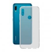 BigBuy Tech Mobilfodral Huawei Y6 2019 Flex TPU Transparent