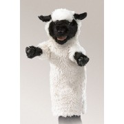 Folkmanis Black Faced Sheep Stage Puppet