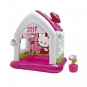 Casuta Gonflabila de Joaca Intex 48631 Hello Kitty