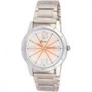 KDS Sliver Best Look Fancy Dial Gift Sport Analog i9 Men Wrist Watch