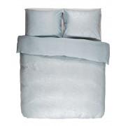 Essenza Bavlněné povlečení na postel, obrázkové povlečení, povlečení na jednolůžko, světle modrá barva, květinový design, Essenza, 140 x 220 cm - …