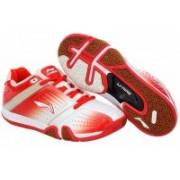 Li-Ning Hero No 1 AYTJ059-1 Badminton Shoes For Men(White, Red)