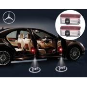 Proiectoare LED Laser Logo Holograme cu Leduri Cree Tip 1, dedicate pentru Mercedes GL Class X166 (2012+)