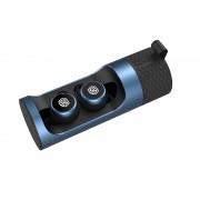 NILLKIN Mini Bluetooth Earphone Wireless Headset HiFi HD Sound Headphones with Charging Bin - Blue