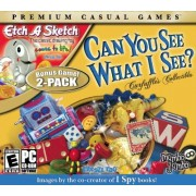 Mumbo Jumbo Can You See What I See plus Etch-a-Sketch PC