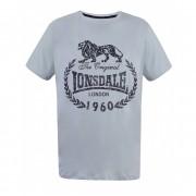 Tricou barbati gray printed culoare gri XL