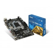 MSI H110M PRO-VD scheda madre LGA 1151 (Presa H4) Mini ATX Intel® H110
