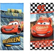 Disney Cars Bilar bad handduk barn (Stadion)
