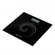 Cantar electronic de baie Belfort, LCD, 150 kg, sticla securizata 6 mm, Negru