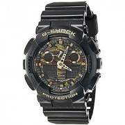 G-Shock World Time Analog-Digital Multi-Colour Dial Mens Watch - Ga-100Cf-1A9Dr (G519)
