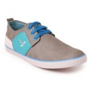 Shoe Mate Grey Sky Casual Shoes Casuals For Men(Grey)