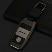 Een stijl auto plein gesp sleutel Shell zink legering auto sleutel Shell geval sleutelhanger voor Kia willekeurige kleur levering