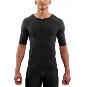 Skins DNAmic Short Sleeve Top - Black/Black - S - Black