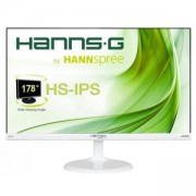 Монитор HANNSPREE HS 246 HFW, LED, 23.6 инча,Ultra- Wide, Full HD, VGA, HDMI, Бял, HSG-MON-HS246HFW