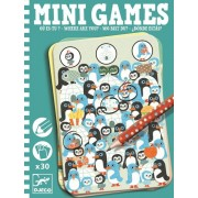 Mini gra podróżna dla dzieci Gdzie jesteś? łamigłówki dla dzieci DJECO DJ05332