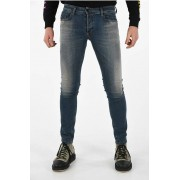 Diesel Jeans SLEENKER L.32 in Denim Stretch 16cm taglia 28