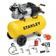 Компресор в комплект с аксесоари Stanley DV2 400/10/50K, 50л, 10бара
