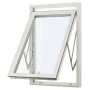 Traryd Fönster Fönster Optimal 580x1380mm Vrid Alu 1-Luft 3-Glas Isoler