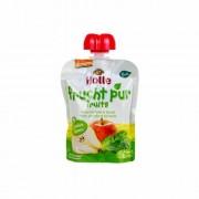 Holle Bio almás-körtés finomság spenóttal 90 g