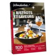 Wonderbox Coffret cadeau Bistrots et saveurs - Wonderbox