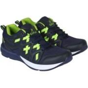 NRGY Go Run Running Shoes For Men(Navy, Green)