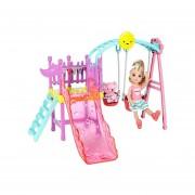 Playset Columpio Resbaladilla Chelsea Barbie