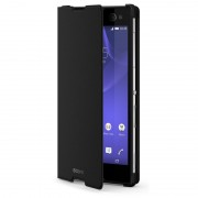Sony Xperia C3 Style Cover Stand SCR15, черен