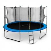Rocketboy 430, rede de segurança de trampolim com 430cm, azul