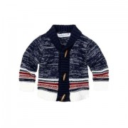 Cardigan tricotat cu nasturi bebe