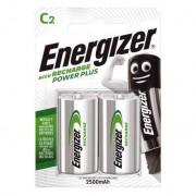 Energizer 2 Piles Rechargeables C / HR14 2500mAh Energizer Power Plus