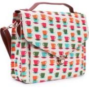 Suprino Women and girls Canvas Multi-Color Sling Bag Multicolor Sling Bag